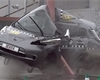 Děsivý crash test mimo zavedené normy. Slisovaný Leaf si vedl překvapivě dobře