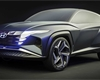 Hyundai odhalil koncept Vision T. Plug-in hybrid ukazuje směřování designu značky
