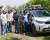 Land Rover Discovery bojuje proti malárii. Po Africe najezdil už 7350 kilometrů