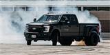 Driftování s obřím pick-upem Ford F-450? Pro Kena Blocka žádný problém