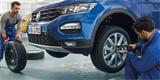 VW rozjíždí zimní servisní akci. Na pneumatiky dá slevu, prohlídku udělá za tři stovky