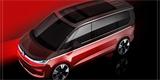 Volkswagen Multivan T7 se odhaluje. S podvozkem Golfu vzpomíná na minulost