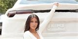 Kim Kardashian oblékla své Lamborghini Urus do plyše. Otřesný výsledek má účel