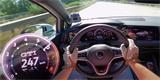 Jak si vede nový VW Golf GTI na dálnici? I nad 200 km/h stále svižně zrychluje!