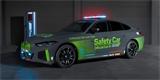 BMW i4 M50 se předvádí jako safety car. Objeví se v doprovodné sérii MotoGP