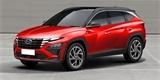 Ostrý Hyundai Tucson N na povedených ilustracích. Možná nejsou daleko pravdě!
