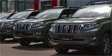 Policie ČR si převzala nové Toyoty Land Cruiser. Off-roady budou sloužit u hranic