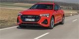 Nové Audi e-tron Sportback na krásných fotkách. Ještě vydržte, dorazí nejdříve v létě
