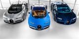 Produkce Bugatti Chiron míří do finále. Rekordy už lámat nepotřebuje, je ikonou