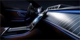 Nový Mercedes třídy S odhaluje interiér. Ambientní osvětlení posune na další úroveň