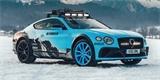 Bentley představuje závodní Continental GT pro GP Ice Race. Vidět ho můžete i vy
