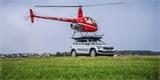 Škoda použila Kodiaq jako přistávací plochu pro vrtulník. Vzpomíná na Yeti