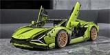 Lamborghini Sián je další úžasnou stavebnicí Lego. Model 1:8 přijde na deset tisíc