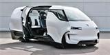 Takto si Porsche představuje kabinu minivanu. Konceptu Renndienst otevřel dveře