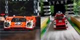 Fotograf vytvořil z Lega známé snímky z minulosti Porsche. Výsledek stojí za to