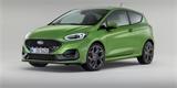 Ford Fiesta má po faceliftu: Dostal Matrix LED světla a více krouťáku v ostrém ST