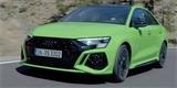 Nové Audi RS 3 Sedan odhaleno únikem. Falešných mřížek se značka nevzdává