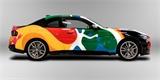 BMW má další Art car. Pestrobarevná dvojka oslavuje výrobu v Mexiku