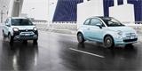 Hybridní Fiaty 500 a Panda mají motor z použitých plechovek. Jak s ním jezdí?