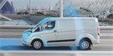 Hybridní dodávky Fordu detekují nízkoemisní zóny. Na elektřinu se přepnou samy