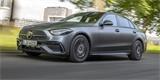 Plug-in hybridní Mercedes C má české ceny. Jen na elektřinu ujede přes 100 km