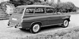 První Škoda Octavia Combi měla zdarma i lůžkovou úpravu. V zahraničí byla hitem
