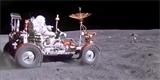Hezčí záběry auta na Měsíci jste neviděli. Původní záznam prošel převodem do 4K