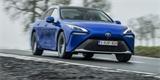 Vodíková Toyota Mirai odhaluje evropské specifikace. Výbavou šetřit nebude