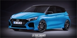 Ostrý Hyundai i20 N si to rozdá s Fordem i Suzuki. Už známe první detaily
