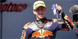 Filip Salač závod Moto3 na Sachsenringu nedokončil. Pro výhru si dojel Acosta