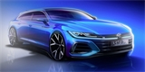 VW láká na modernizaci Arteonu. Potvrzuje verzi Shooting Brake, čekejte i silné R