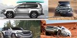 Takto mohl vypadat nový Land Cruiser. Toyota zveřejnila původní designové návrhy