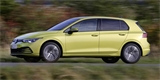 Nový VW Golf už taky jezdí na CNG. Čistě na zemní plyn zvládne okolo 400 km