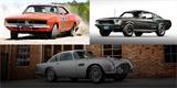 Nejdražší filmová auta v historii: Bullitt je až třetí. Porazil ale Eleanor i Generála