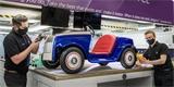 Elektrický Rolls-Royce zamířil do servisu. Po chodbách nemocnice už najel 100 km!