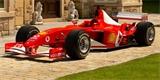 Schumacherova formule jde do aukce. Bohužel jí chybí motor i převodovka