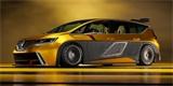 Grafik navrhl Renault Espace F1 pro dnešní dobu. Drží se stylu šíleného MPV z 90. let