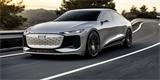 Audi A6 e-tron concept oficiálně: Elektrický manažer dá 700 km na nabití