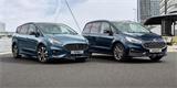 Minivany Galaxy a S-Max budou mít hybrid. Ford do nich investoval 42 milionů eur