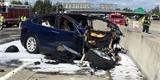 Nejznámější nehoda Tesly odhaluje další fakta. Řidič si za svou smrt mohl sám
