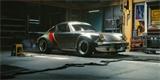 Porsche 911 Turbo říznuté kyberpunkem můžete řídit i z obýváku. Přesvědčte se
