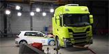 Podívejte se na crash test elektrického náklaďáku. Scania je s výsledkem spokojena