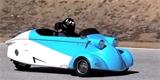 Messerschmitt Kabinenroller se vrací na silnice. Nová verze jezdí na benzin i elektřinu