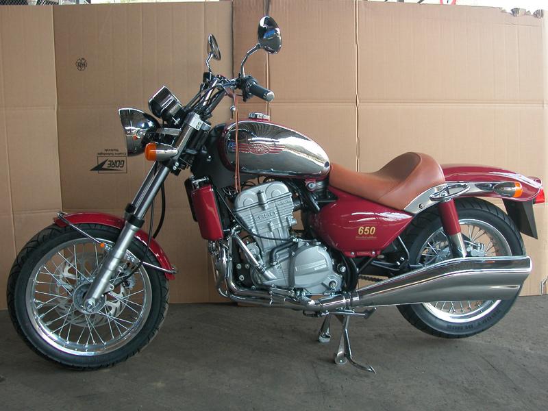 Мотоцикл Ява 660 люкс фото #7