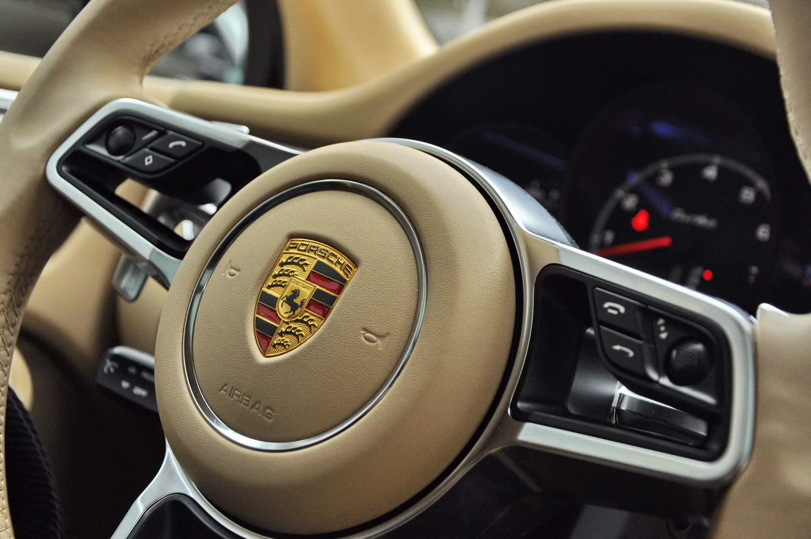 Black turbo with the black exterior package and 21s and - Porsche macan white with red interior ...