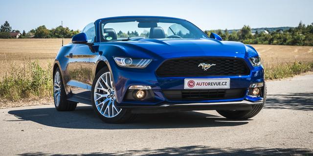 "Test Ford Mustang 2.3 EcoBoost Convertible  Velmi stylové ""Mondeo"" –  AutoRevue.cz 1f2b21c271"