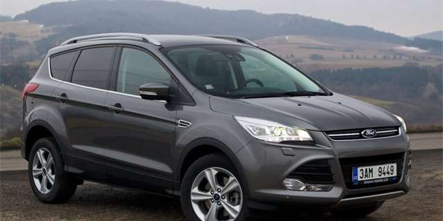 Test Ford Kuga 2.0 TDCi 103 kW PowerShift 4x4:Bratranec z USA