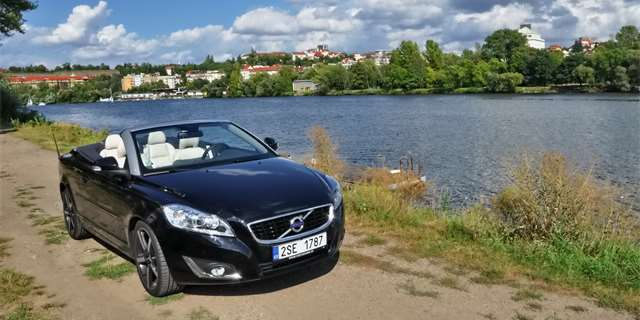 Test: Volvo C70 D4 – švédská demonstrace