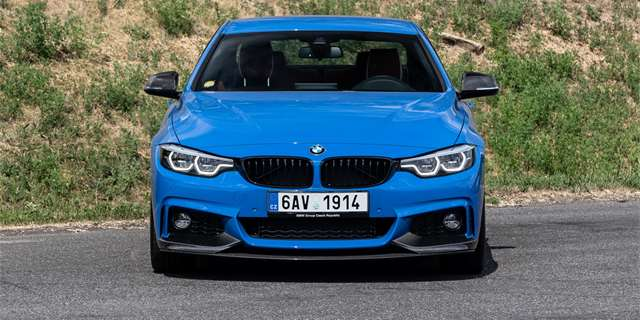 Test BMW 440i Coupé M Performance Power and Sound kit