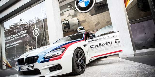BMW M6 Grand Coupe jako Safety Car pro MotoGP